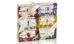 Kazeta přírodních mýdel Nesti Dante Květinová 6 x 150 g