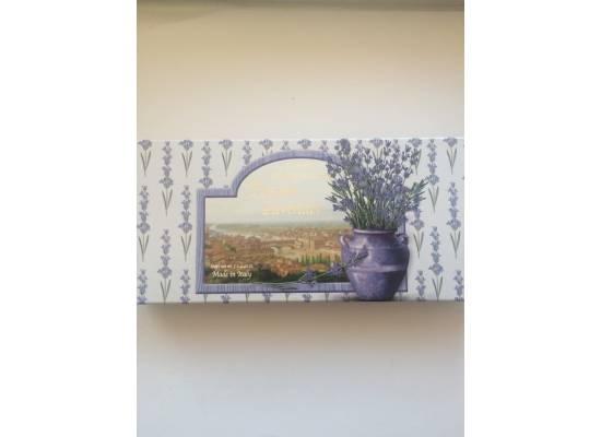 Dárková kazeta mýdel Tuscan Levander 3x125g