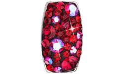 Stříbrný přívěsek s krystaly Swarovski 34194.3 Cherry