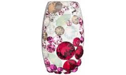 Stříbrný přívěsek s krystaly Swarovski 34194.3 Sweet Love