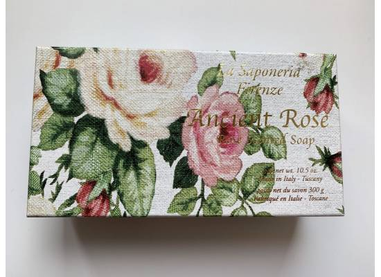 Kazeta mýdel ANCIENT ROSE 300g