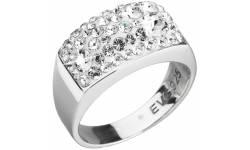 Prsten se Swarovski Elements 35014.1 Krystal