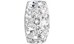 Stříbrný přívěsek s krystaly Swarovski 34194.1 Krystal