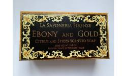 Mýdlo Fiorentino Ebony and gold 300g