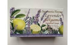 Mýdlo Fiorentino Lavender and Bergamot 300g