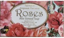 Kazeta mýdla ROSES 300g