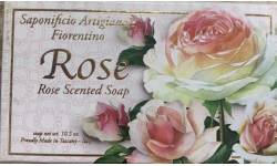 Kazeta mýdla ROSE 300g