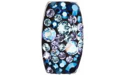 Stříbrný přívěšek s krystaly Swarovski elements Blue Style Ag 925 34194.3
