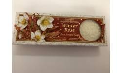 Vánoční dárková kazeta mýdel WINTER ROSE 3x150g